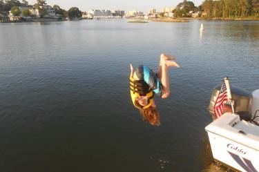 rudee inlet boating family fun
