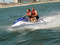 Virginia Beach Oceanfront Rudee Inlet Jet Ski