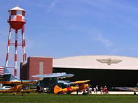 military aviation museum exterior