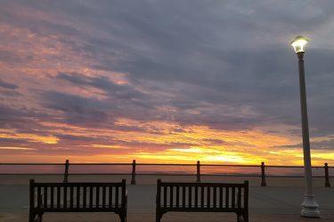 schooner inn sunset view